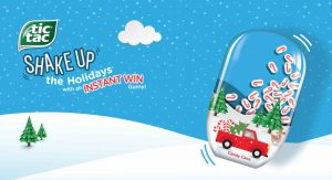 Tic Tac Shake Up the Holidays Game